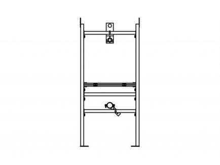 Nosač za urinal IL_0 - Knauf