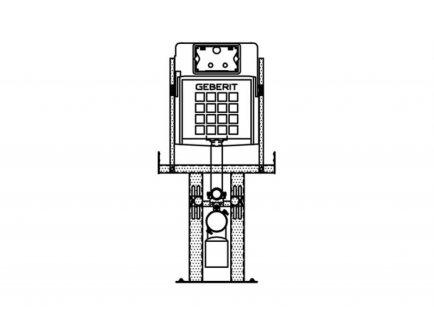 Nosač za WC - HL_0 - Knauf