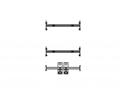 Set nosača za ovjes bojlera i priključak tople vode_0 - Knauf