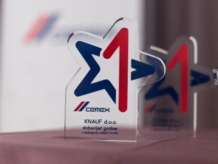 Knauf d.o.o. dobavljač godine u kategoriji velikih tvrtki_0 - Knauf