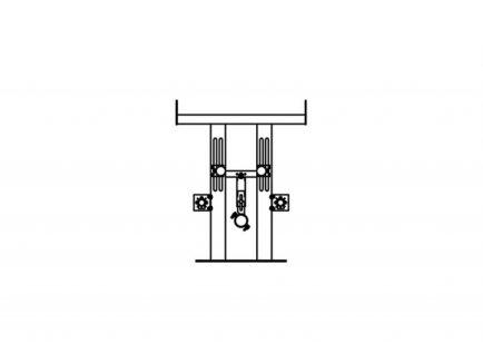 Nosač - BT za viseći bidet - BS_0 - Knauf