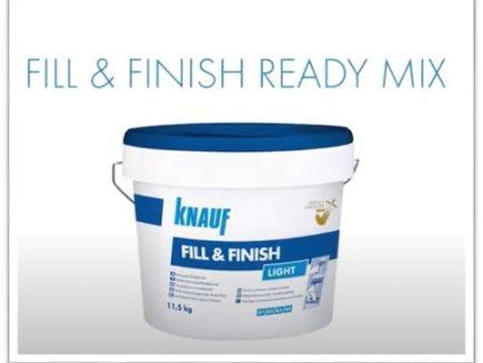 FILL & FINISH - materijal za ispunjavanje spojeva i zaglađivanje površina_0 - Knauf