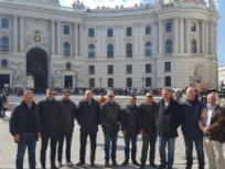 Beč - posjet s partnerima