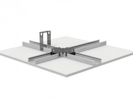 D113.hr Spušteni strop na metalnoj potkonstrukciji CD 60x27 u istoj razini