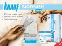 BIOFINISH PLUS - nova glet masa na bazi vapna za završno zaglađivanje