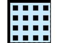 Cleaneo 12,5 mm Ravna kvadratna perforacija Q