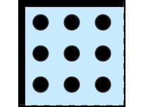 Cleaneo 12,5 mm Ravna okrugla perforacija R