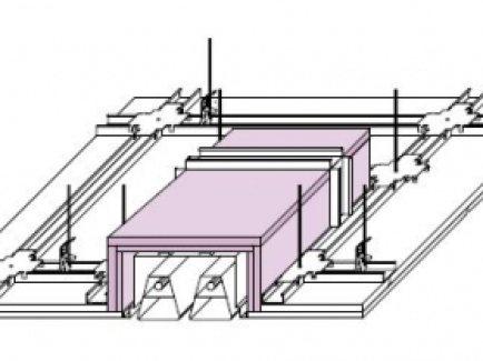 D181.hr Protupožarno oblaganje za ugradnju stropnog osvjetljenja