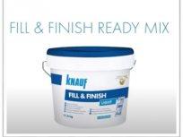FILL & FINISH - materijal za ispunjavanje spojeva i zaglađivanje površina