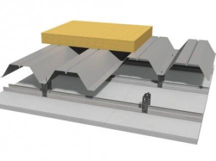 K217. hr Spušteni strop sa potkonstrukcijom od trapezastog lima Knauf Fireboard