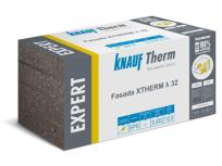 Knauf Therm EXPERT - EPS FG 032, λD 0,032 ( W/mK) fasadna izolacijska ploča, grafitna sa ravnim rubom, 100 x 500 mm