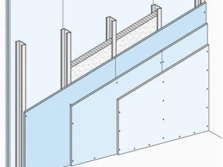 W113.hr Nenosivi pregradni zid s jednostrukom metalnom potkonstrukcijom, obostrano troslojno oblaganje