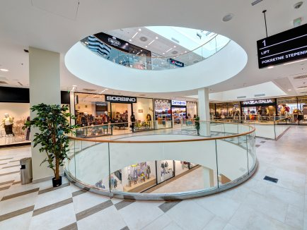 City Mall, Podgorica_1 - Knauf