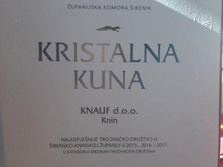 Kristalna kuna dodijeljena tvrtki Knauf d.o.o._6 - Knauf