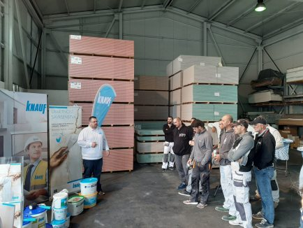 Prezentacija proizvoda iz asortimana Perfect Surfaces u Zadru_1 - Knauf