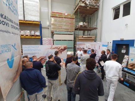 Prezentacija proizvoda iz asortimana Perfect Surfaces u Kaštel Sućurcu_1 - Knauf